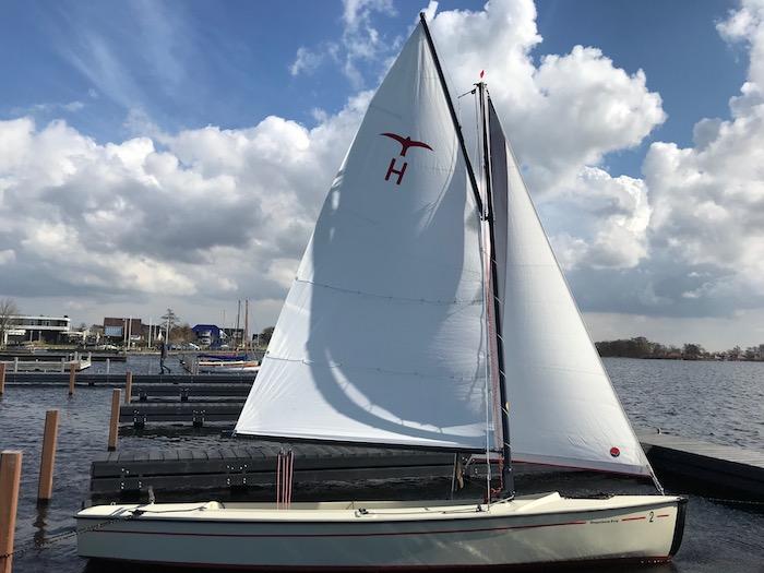 Poly-Valk zeilboot huren Kaag (Kagerplassen)